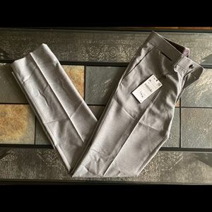 Zara Man Pants Slim Fit Viscose 29 Grey New Slacks